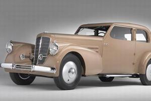 Million Dollar Auction: Marmon HCM V12 2-Door Sedan Prototype