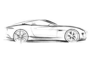 Jaguar C-X16 Concept Sketched Teased Before Frankfurt