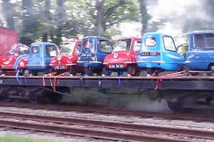 Still the World's Smallest Car, the Peel P50 is Small Enough to Unload From a Train by Hand