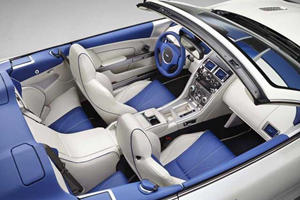 Aston Martin Q Builds Eye-Catching DB9 Volante in Two-Tone Blue and Morning Frost