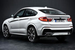 M Performance Brings Host of BMW X4 Goodies to 2014 Essen Motor Show