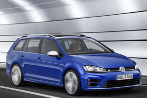 The VW Golf R Variant is the 296 Horsepower Wagon We Want