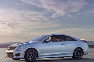 World Debut: 2016 Cadillac ATS-V Sedan and Coupe are Hungry and Want to Eat Them Some M3 and M4