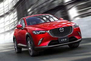 Mazda CX-3 Unveiled in LA: Entry-Level Crossover to Give Juke a Hard Time