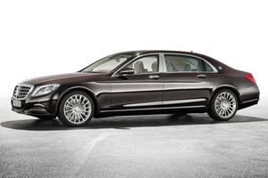Mercedes-Maybach S-Class Slinks into the LA Auto Show with Effortless Style