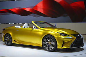 The Lexus LF-C2 Concept, Unveiled in LA, Looks Like a Sports Car That's Just Starting to Melt