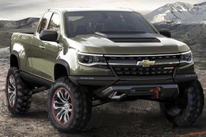 Chevrolet Colorado ZR2 Concept is the Diesel Off-Roader of Your Dreams