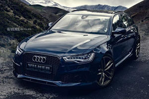 Vilner Gives Audi RS6 Avant a Subtle Interior Upgrade to Complement 700-HP Power Boost