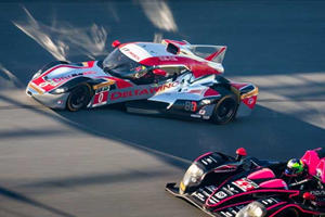 Onboard the Delta Wing Racer at the Track For Some Aerodynamic High-Speed Weirdness