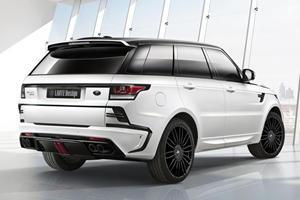 """Larte Design Reveals Range Rover Sport """"Winner"""" for Essen Motor Show"""