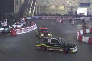 Essen Motor Show Hosts Indoor Drift Event, Complete With Weird Nissan Sylvia