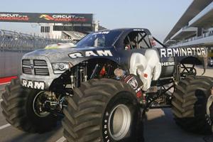 The Raminator Smashes Guinness World Record for Fastest Monster Truck