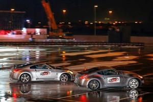 Nissan Z Cars Break Longest Twin Vehicle Drifting World Record with One Continuous 17-Mile Drift