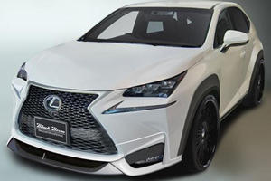Wald International Unveils Black Bison Body Kit for Lexus NX Crossover Ahead of Live Debut