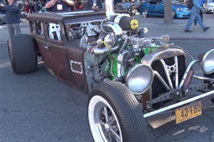 1,000-HP Diesel Rat Rod Will Eat Your Prius for Breakfast