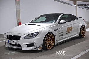M&D Gives BMW 6 Series Coupe More Power and Fresh New Look