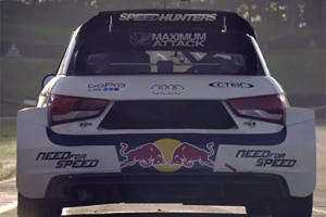 Rally Legend Walter Rohrl Proves His Master Wheelmanship In Audi S1 EKS RX Quattro
