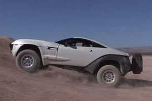 Texan Spent Over $100k Building Ultimate Off-Road Desert Rally Fighter In Just 30 Days