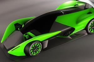 Motorcycles to Motorcars: Kawasaki ZX-770R Concept