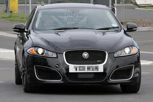 Spied: 2013 Jaguar XFR-S Mule Spotted in Germany