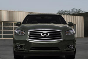 2013 Infiniti JX Crossover Uncovered at Pebble Beach