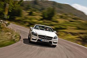 Official: 2012 Mercedes-Benz SLK55 AMG Debuts