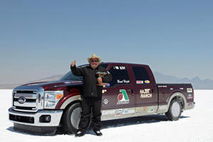 Ford F-250 SD Adds Pace to its Brawn with Two Land Speed Records