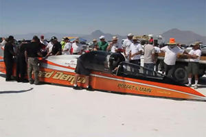 Video: 426mph in HD: George Poteet's Record Bonneville Mile