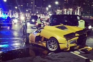 Check Out This Nasty Pagani Zonda F Crash In Dubai