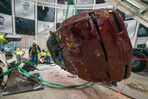 How Many Tons Of Stone Did It Take To Fill The Corvette Museum Sinkhole?