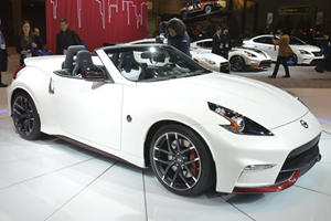 Nissan Reveals New Performance Concept In Chicago: The 370Z Nismo Roadster