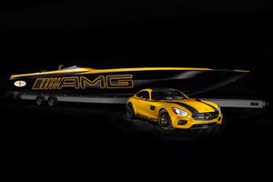 This Is A Mercedes-AMG GT S Speed Boat