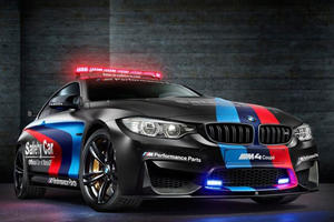BMW's MotoGP M4 Safety Car Is Showcasing A New Water Injection Intake Air Cooler