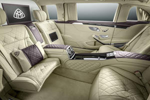 This Is The Mercedes-Maybach S-Class Pullman: 21.5 Feet and 500,000 Euros Of Chauffeur-Driven Opulence