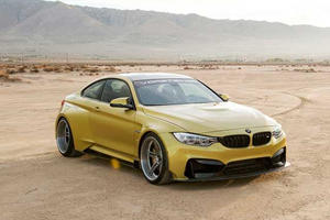 Vorsteiner Gives Us A Good Luck At It's Crazy BMW M4 Widebody Kit