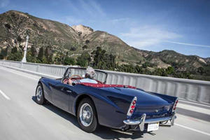 Jay Leno Drives His Daimler SP250, Once Voted The Ugliest Car Of The 1959 New York Auto Show