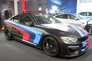 BMW's Water Injection M4 Moto GP Safety Car Shows Up At Geneva