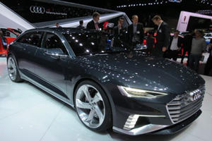 Audi Didn't Just Bring R8s To Geneva, The Prologue Avant Concept Was There To Wow Wagon Lovers