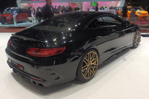 Brabus-Tuned Mercedes S63 AMG Coupe Is Excess At Its Finest