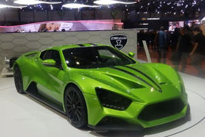 Zenvo ST1 Turns Up In Geneva With Some Updates And New Transmission