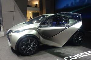 The Teeny Tiny Lexus LF-SA Concept Looks Less Weird In The Metal, Still Weird Though