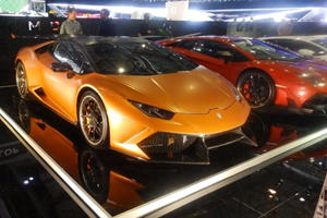 DMC Delivers A One-Two Punch In Geneva With Lamborghini Huracan and Aventador