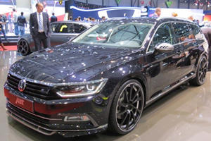 ABT Brings Tuned Volkswagen Passat Diesel Wagon To Geneva
