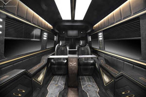 Carlex Jet Van Is The Ultimate Means Of Transportation