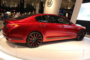 The Kia Inspired By LeBron James Has Arrived And It's Red