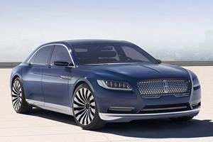 The New Lincoln Continental Concept Is Here And It's Absolutely Gorgeous