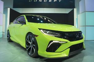 10th-Generation Honda Civic Swipes Spotlight in New York