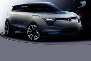 Ssangyong Reveals XIV-1 Concept