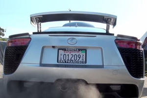This Is The Sound Lexus LFA Owners Hear Every Track Day