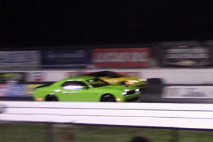 It Never Stood A Chance: Insane Hellcat Vs. ZR1 Drag Battle